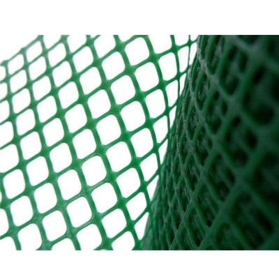 ตาข่ายพลาสติก PVC กว้าง 90 cm. ขนาดรู 12 mm. สีเขียว (ราคาต่อ 1 เมตร)