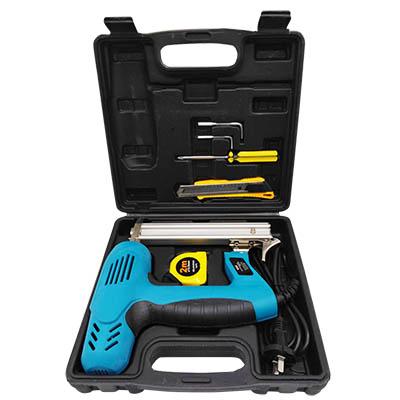 แม็กไฟฟ้าขาเดี่ยวกระเป๋า F30 RSK-F30 สีฟ้า