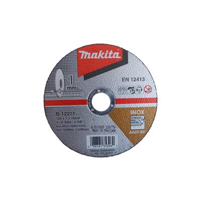 ใบตัดเหล็ก 4 นิ้ว หนา 1 มิล Makita B-12201 (10 ใบ)