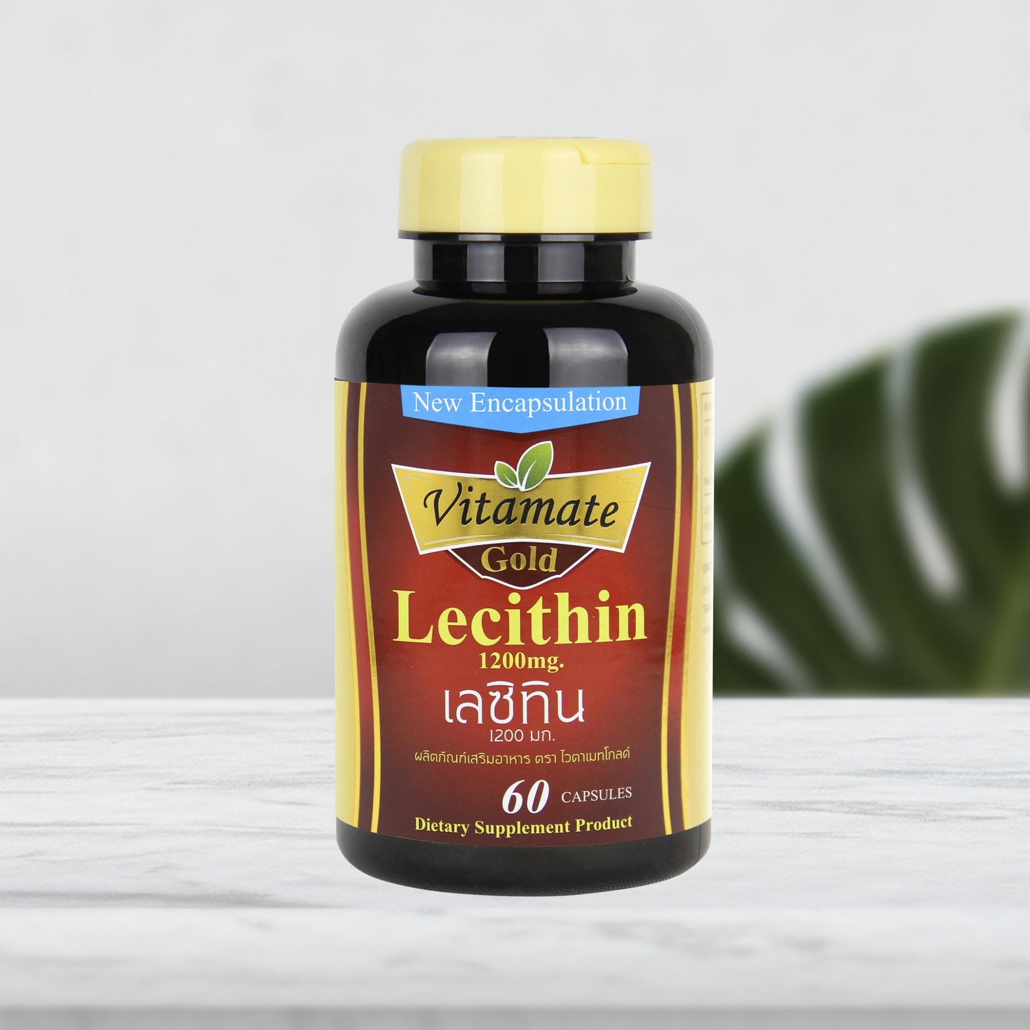 Vitamate Gold Lecithin 1200 mg.