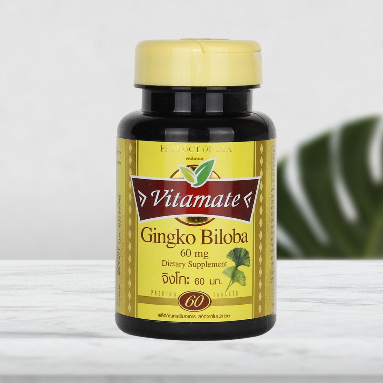 Vitamate Gingko Biloba  60  mg.