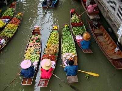 Floating Market+ The Grand Palace+ Wat Pho