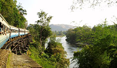 Floating Market+River Kwai+Train Ride