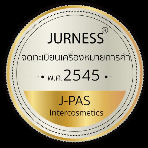JURNESS ได้รับการจดทะเบียนเครื่องหมายการค้าถูกต้องตามกฎหมาย ตั้งแต่ปี 2545