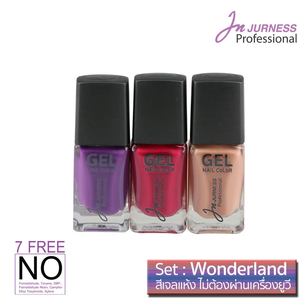 JURNESS Wonderland dry gel nail color 13.5 * 3 bottle
