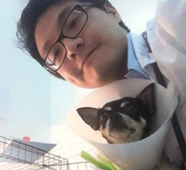"""ผมชื่อ""""เน็ค""""โดนสุนัขขนาดใหญ่กัด โพรงลึกมากกว่า 5 เซนติเมตร"""