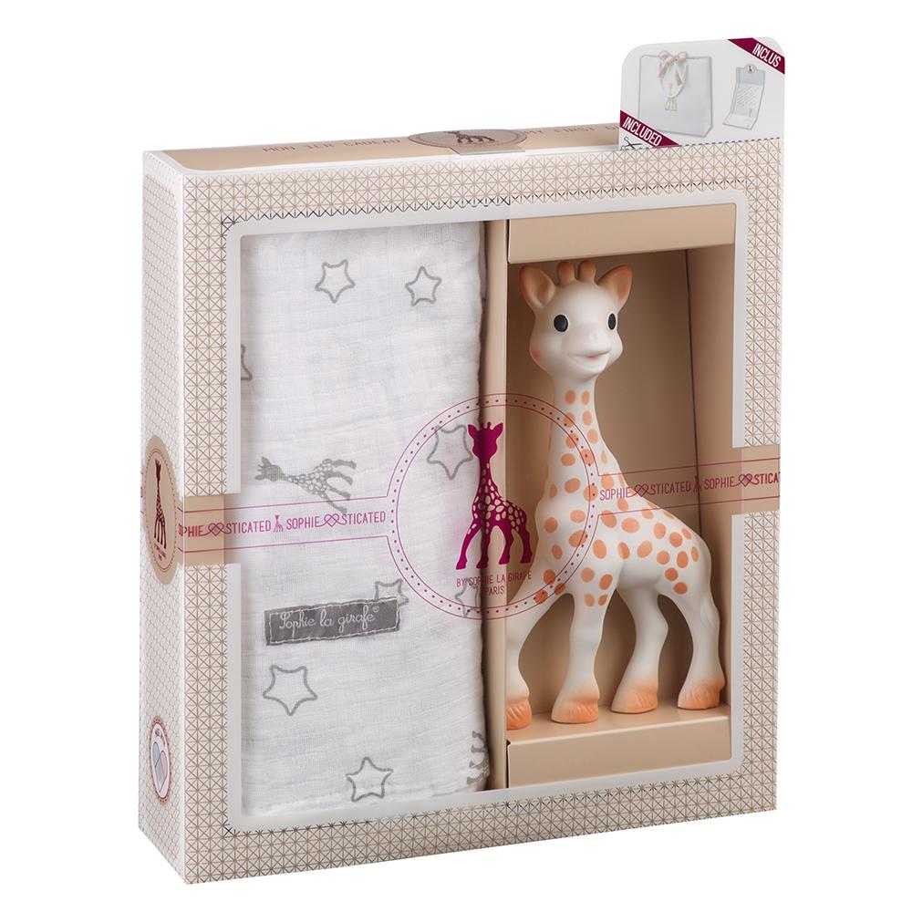 Sophie La Girafe Sophiesticated เซ็ทยางกัดโซฟี พร้อมผ้าอ้อม