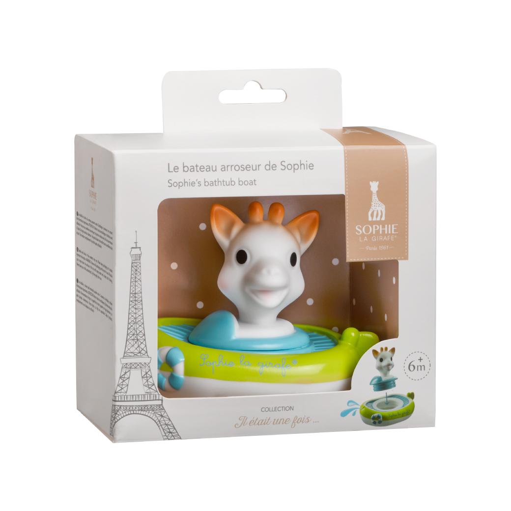 ของเล่นอาบน้ำยีราฟเรือใบลอยน้ำ Sophie la girafe® Sophie's bathtub boat