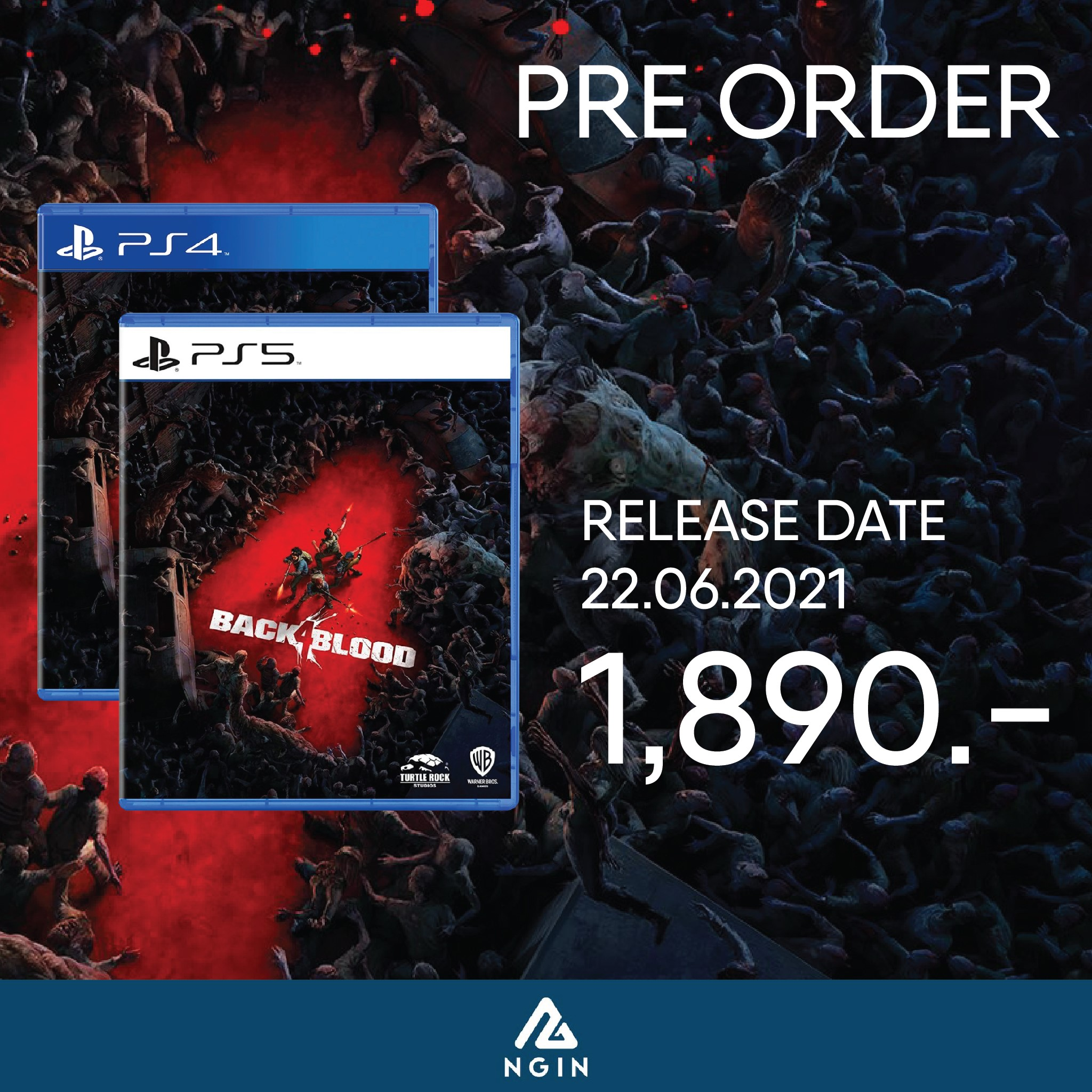 PS4 , PS5 Black 4 Blood