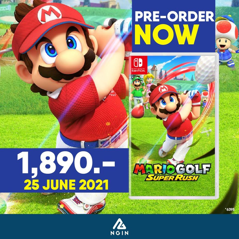 NSW Mario Golf Super Rush