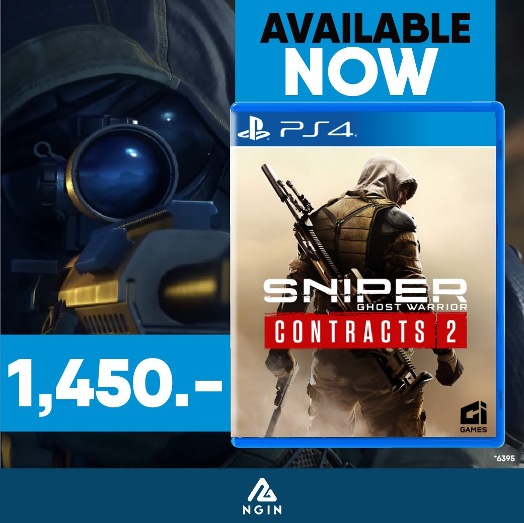 PS4 Sniper Ghost Warrior Contract 2
