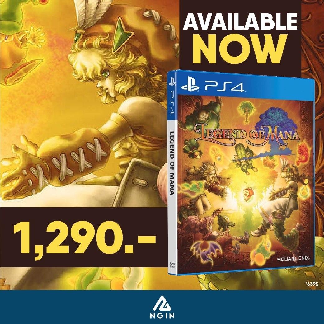 PS4 Legend of Mana