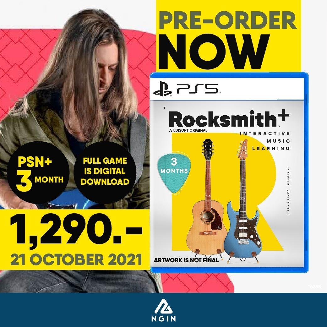PS5 Rocksmith+