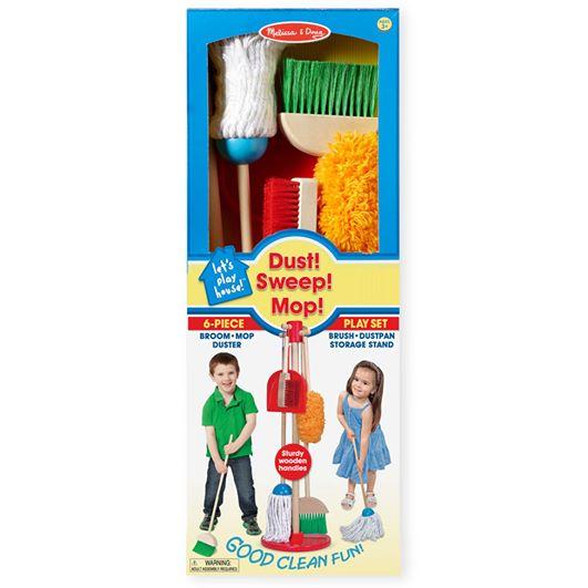 Dust! Sweep! Mop! ชุดเล่นทำความสะอาด