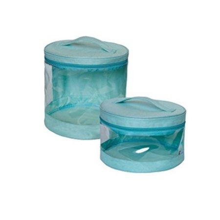 JJ Cole - Clear Storage Bin กระเป๋าเก็บของใช้เด็ก, ของเล่นเด็ก อเนกประสงค์ สีฟ้า