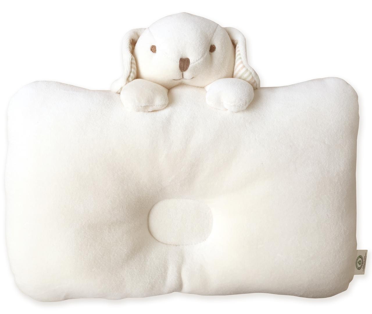หมอนหลุม Peekaboo Puppy - Natural Beige