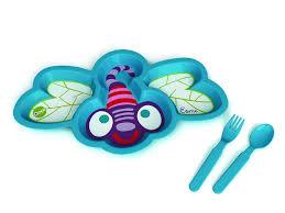 ชุดทานอาหาร รูปแมลงปอ