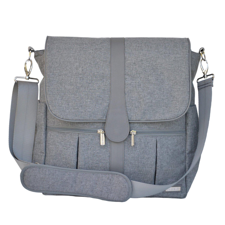 กระเป๋าคุณแม่ดีไซด์ ทันสมัย JJ Cole  Gray Heather