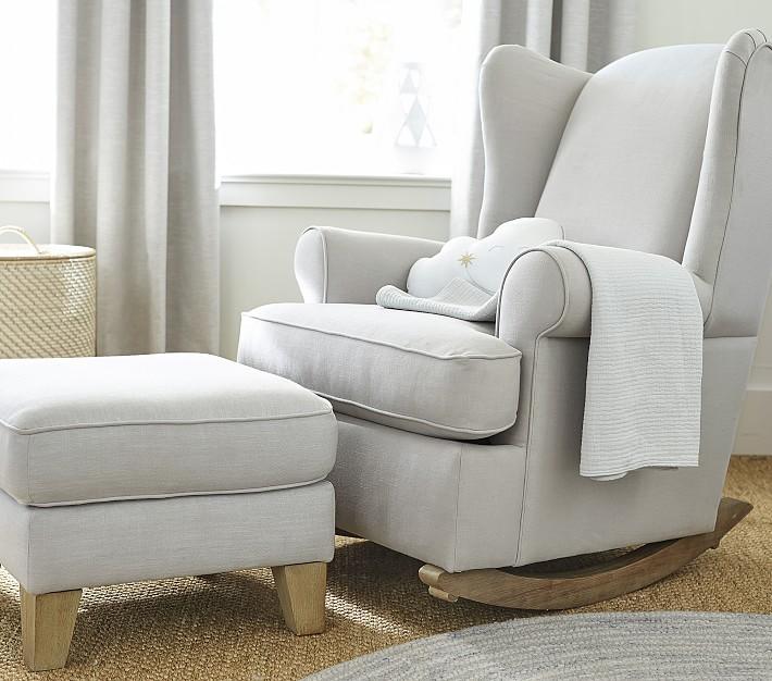 เก้าอี้โยก Wing Rocking Chair Tinytotsstore