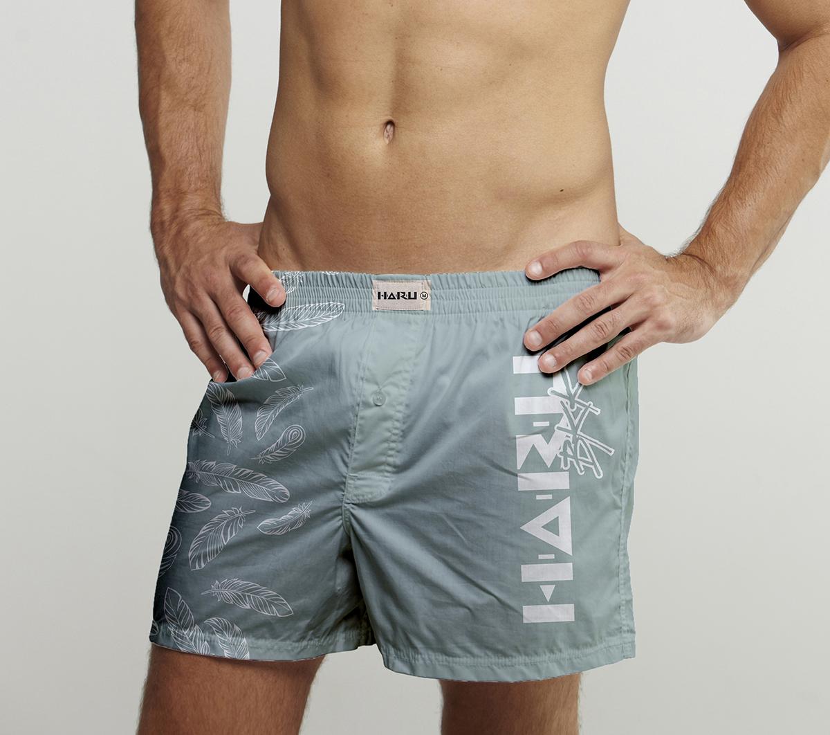 กางเกง Boxer พิมพ์ลาย
