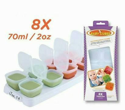 Baby Cubes - 70 ml / 2 oz ( 8 pcs. )