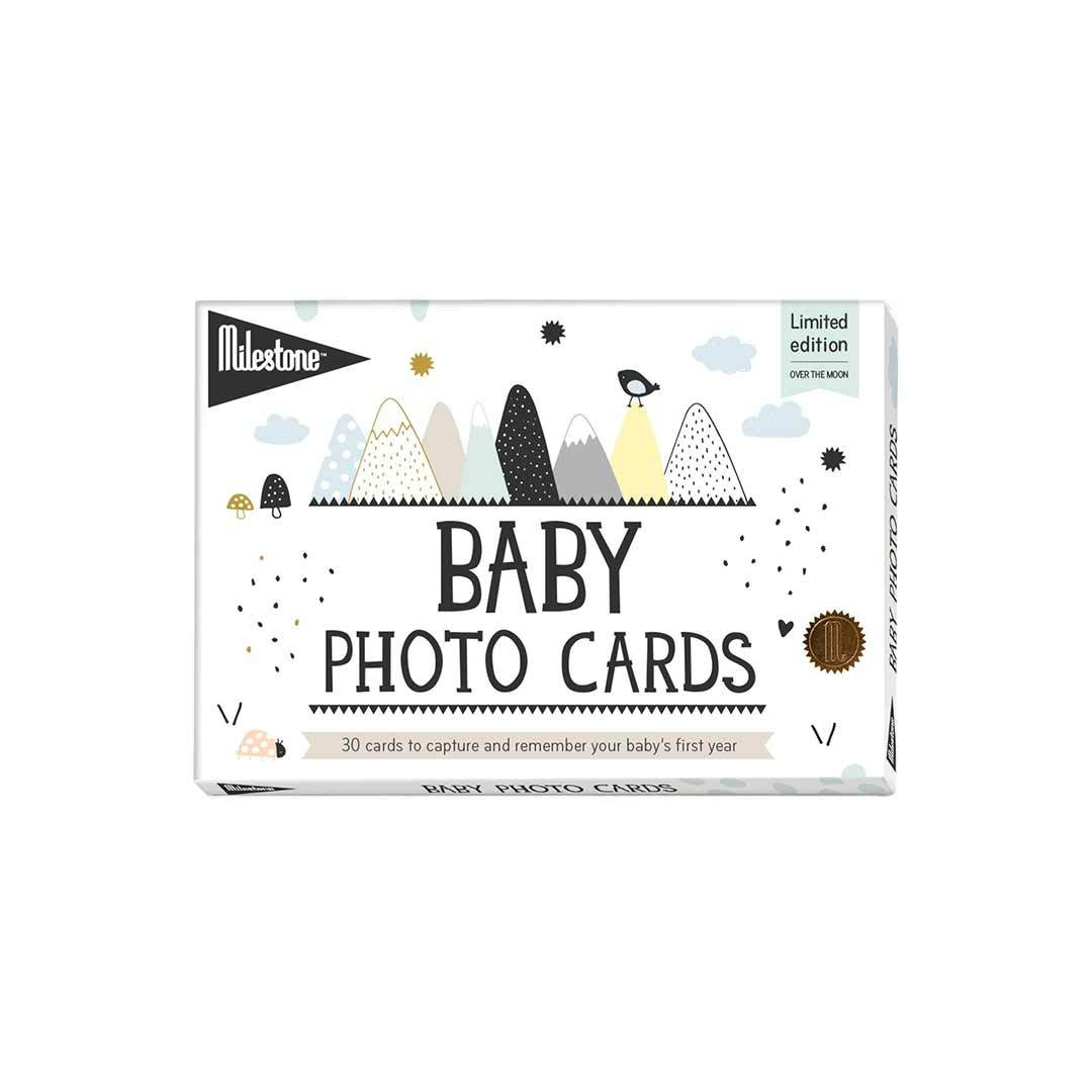 Baby Milestone - Baby Photo Cards Over The Moon
