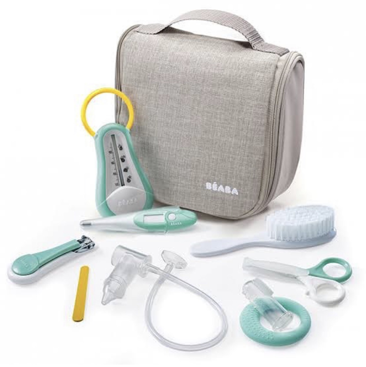 Beaba - Hanging Toiletry Pouch with 9 Accessories