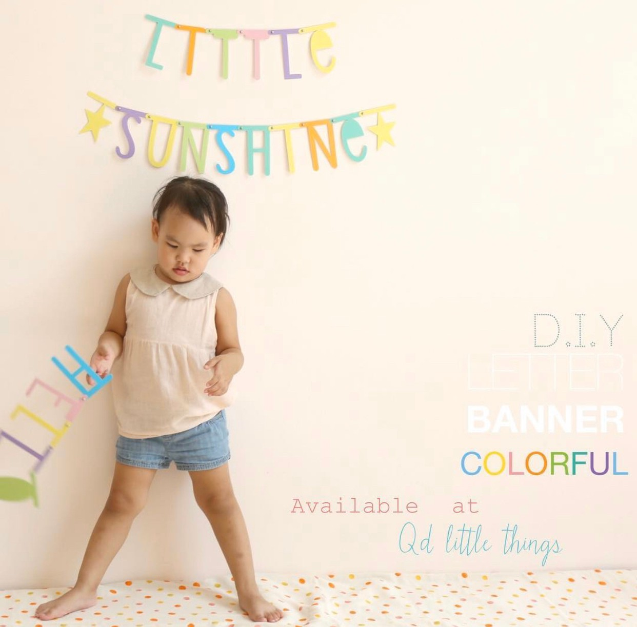 Happy Journey - DIY Banner ( Colorful )
