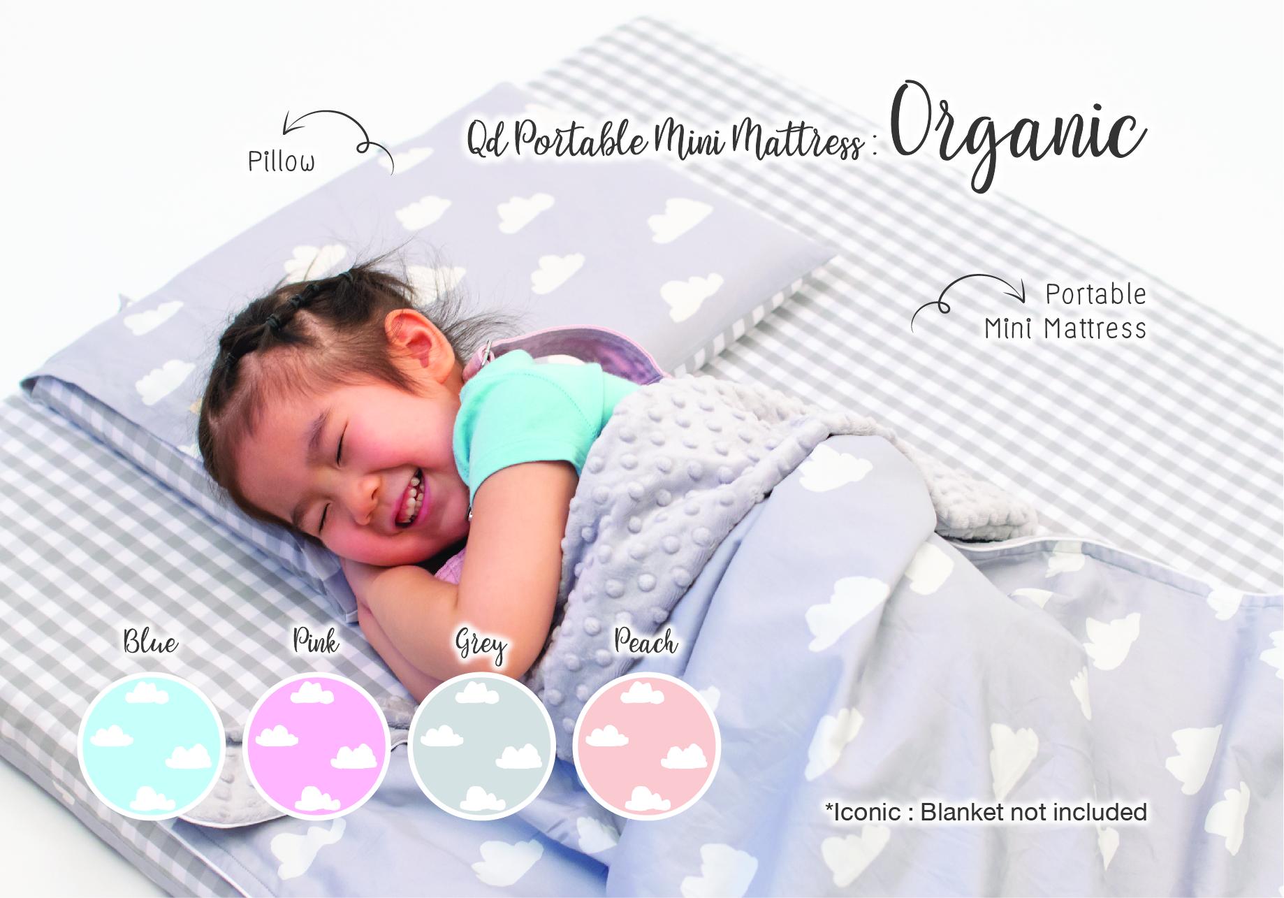 Qd Portable Mini Mattress : Organic