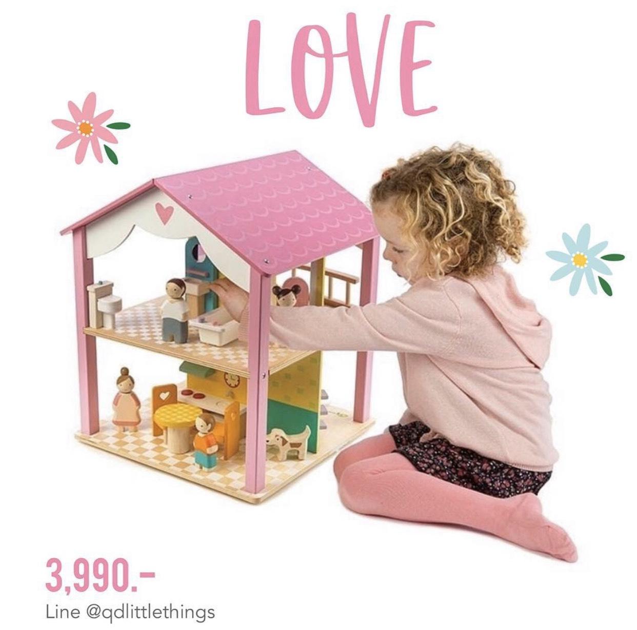Tender Leaf - Pink Leaf House