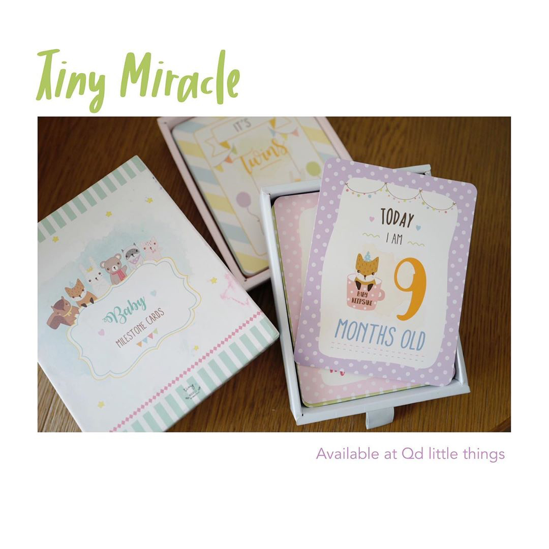 Tiny Miracle - Pregnancy & Baby Milestone Cards