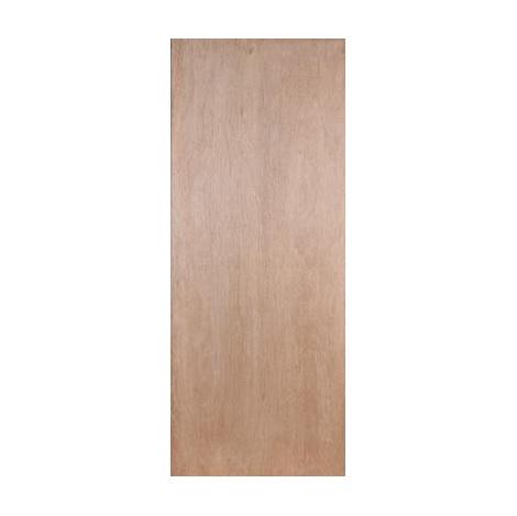 บานประตูไม้อัดยาง-ไส้ไม้ 80cm x 200cm