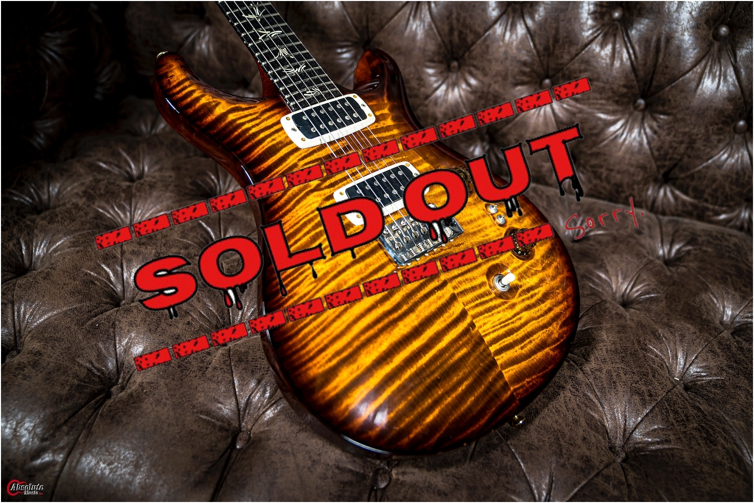 Prs Brushstocke24 10Top Limited 200 Made