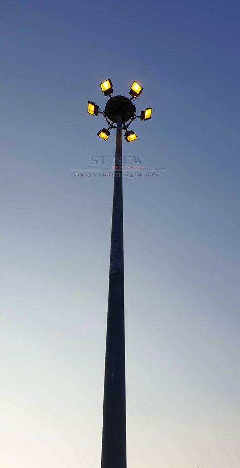 เสาไฟ high mast