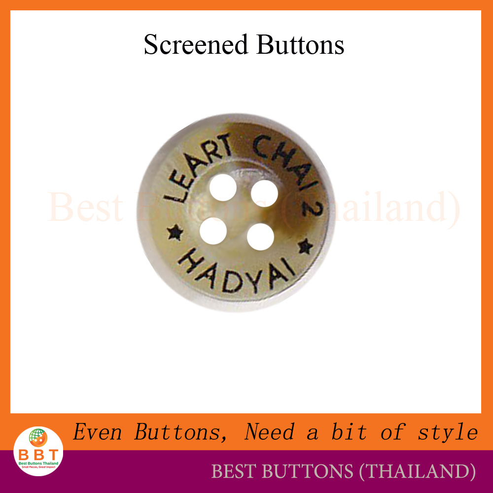 Screened colour buttons