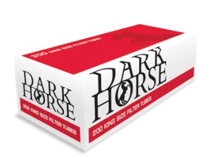 ก้นกรองเปล่าตัวใหม่ เป็นมวนร้อน มี100มวน ยี่ห้อ DARK HORSE (ดาร์กฮ็อต)