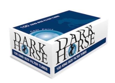 DarkHorse 100 Cool Point มวนเปล่า (ราคารวมส่ง)  ขนาดบรรจุต่อกล่อง 100 มวน แบบเย็นเม็ดบีบ