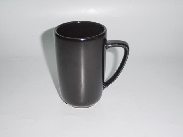 Tall Coffee Mug 250cc D6.8x10.8cm Black HPD0088-2CB