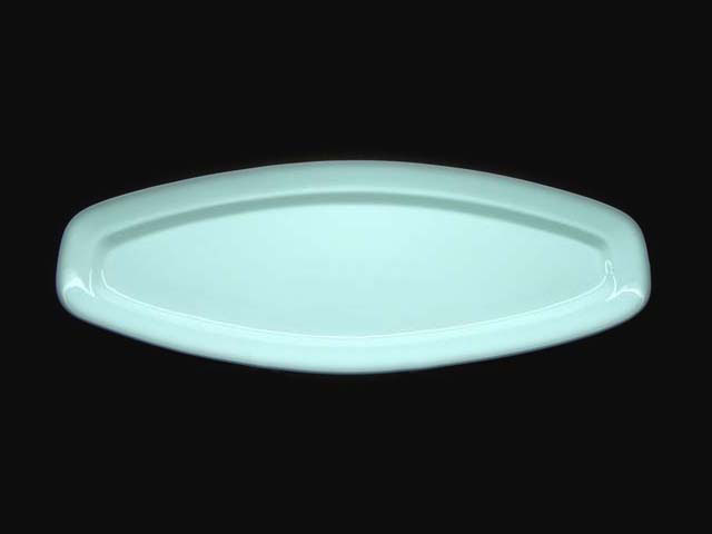 Lozenge Plate 41.8x15.3 cm HPD0161