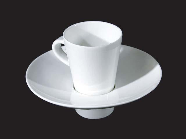 Taper Coffee Cup 100cc & Hat Saucer D13.5 cm HPD0221