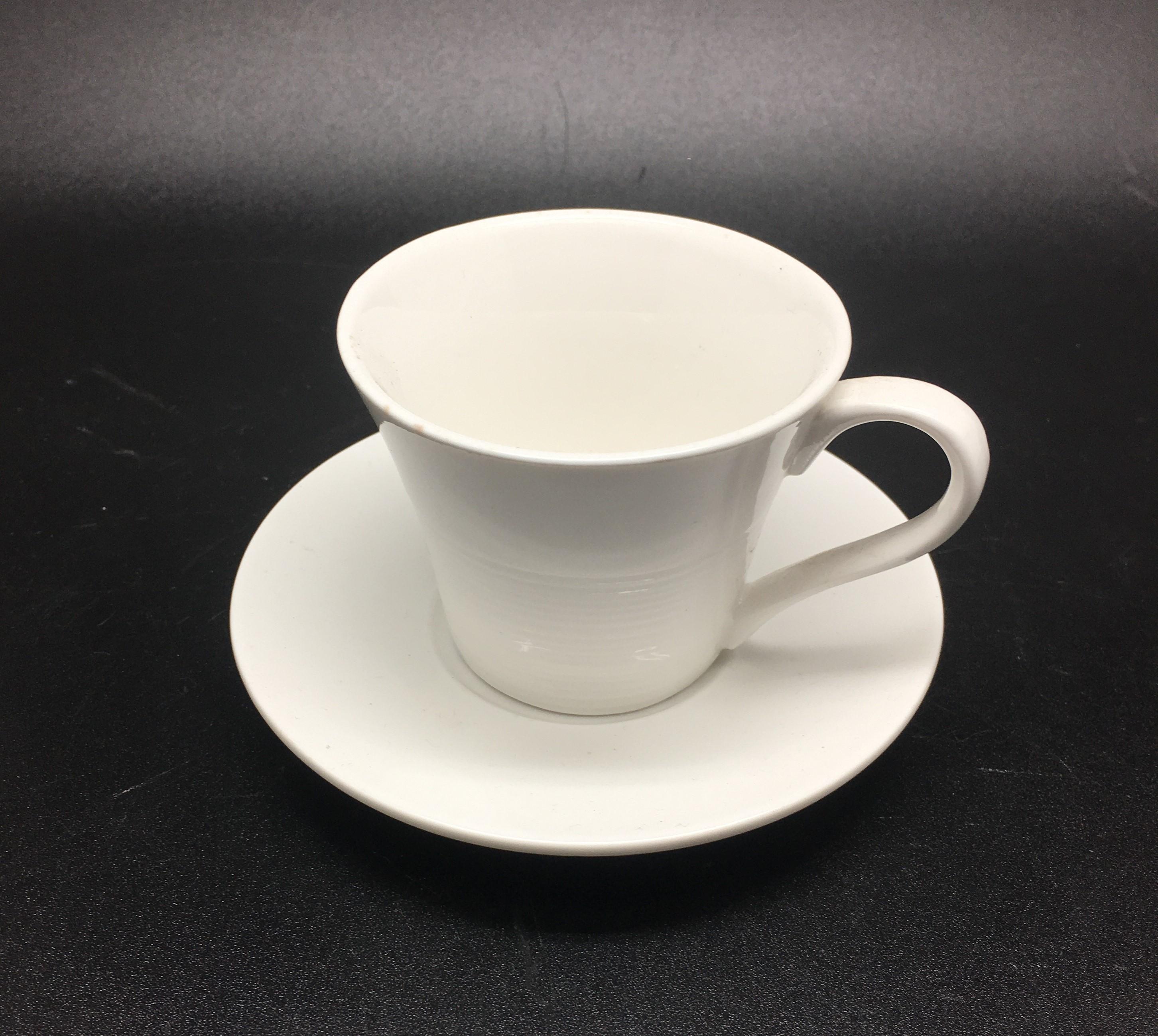 Shogun Espressso Cup D7xH5.2 cm 75cc & Saucer D10.5 cm