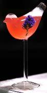 Bird Shape Wine Glass D11.5xH21cm 150ml (SGRR4266)