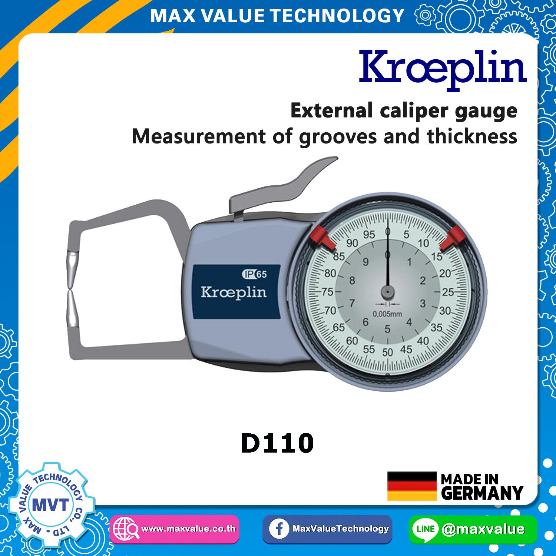 D110 - เขาควายวัดนอก แบบไดอัล/แบบสเกล 0-10 mm