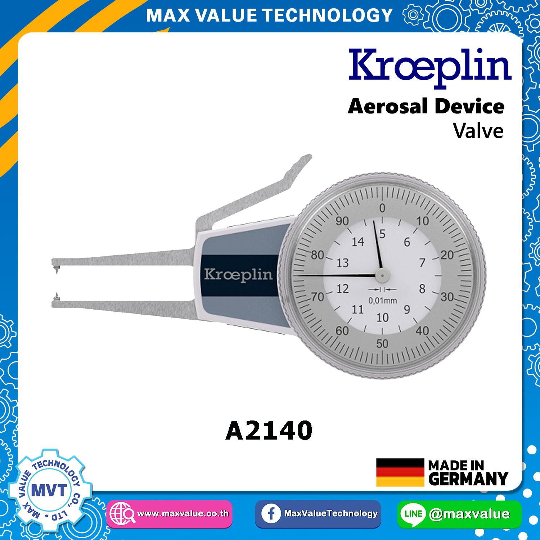 A2140/AEK2140 - Aerosol devices - Valve