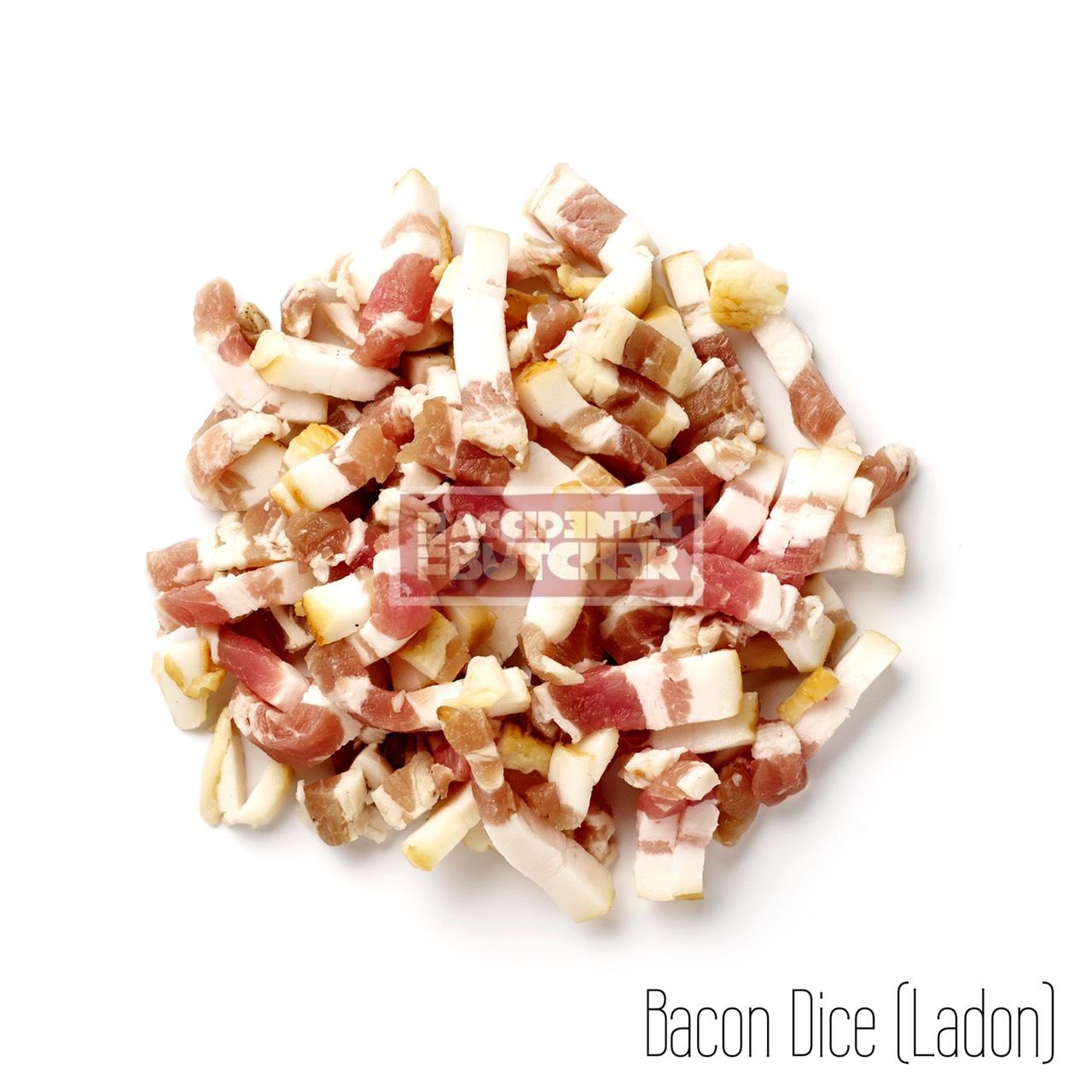 Wood Smoked Streaky Bacon Diced