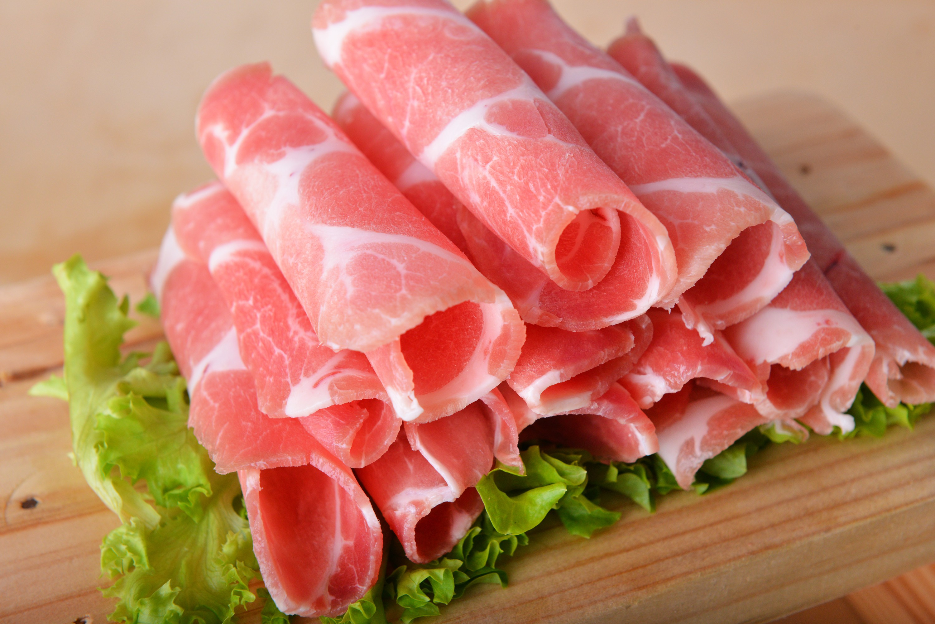 Sliced Pork (Shabu-shabu).
