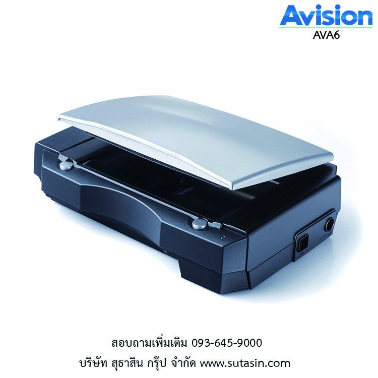 เครื่องสแกนเนอร์ Avision AVA6