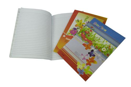 สมุดปกอ่อน (ปกมัน พิมพ์4สี อาบมัน )