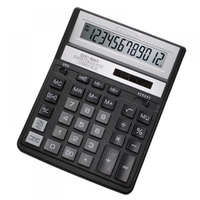 เครื่องคิดเลข รุ่น SDC -888X