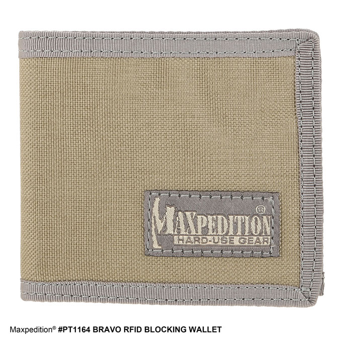 Maxpedition BRAVO™ RFID BLOCKING WALLET